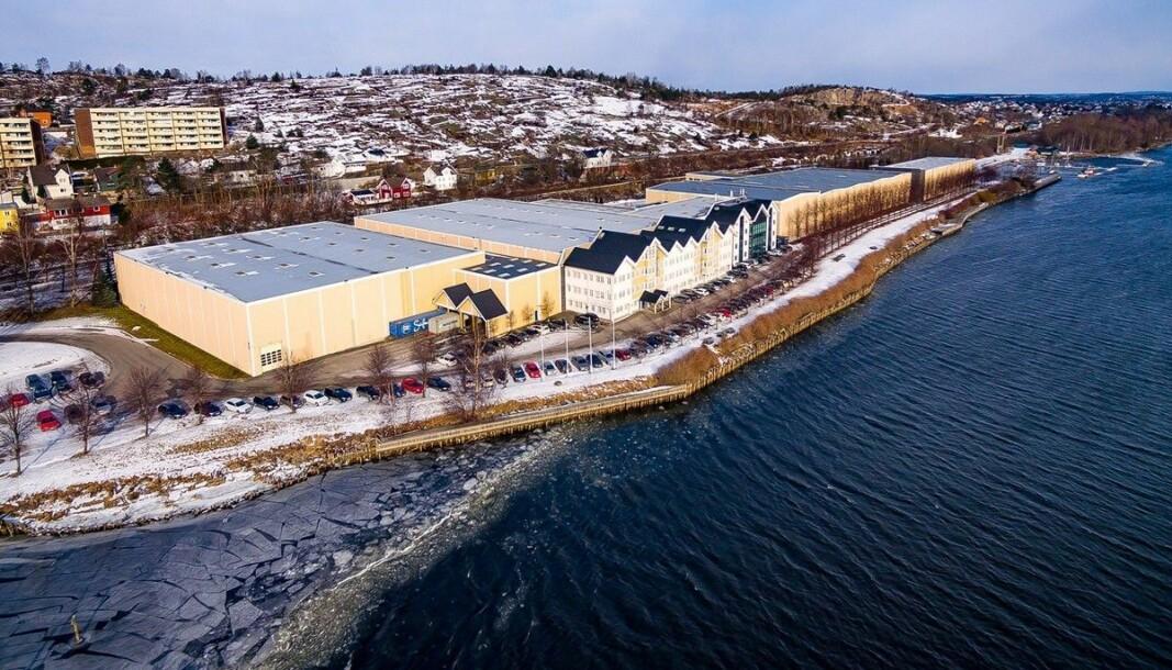 TRANSAKSJON: Nå er det 24.000 kvadratmeter lageranlegget solgt.