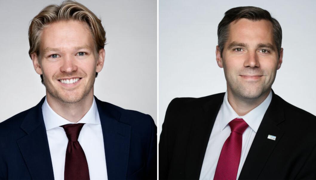 DRAR OPP: De to klart største eierkostnadene knytter seg til eiendomsforvaltning og vedlikehold, skriver f.v. Petter Dalen, manager i RSM sin avdeling for transaksjonsrådgivning og Anders Magnus Løvaas, partner og revisor i RSM.