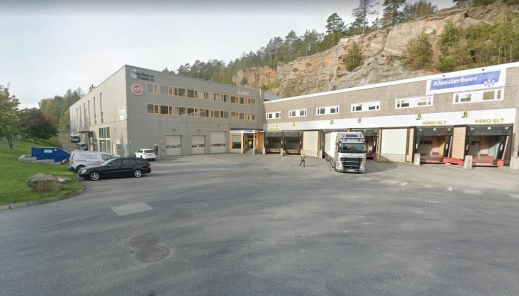 FRYSELAGER: Lineage Logistics har kjøpt blant annet et fryselager i Moss.