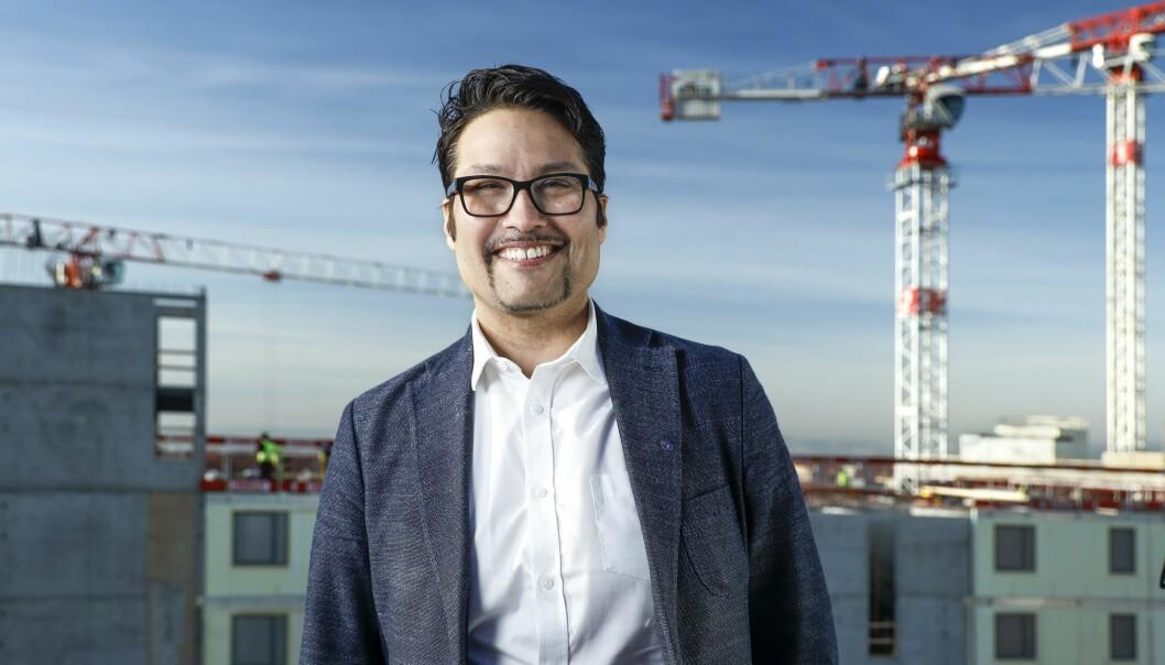 KJØPEKRAFT: Det er viktig å bygge boligstørrelser som markedet etterspør og har kjøpekraft til, uttaler konsernsjef Daniel Kjørberg Siraj i OBOS.