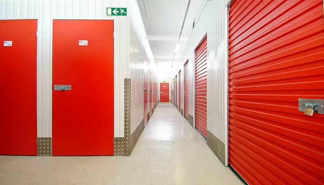 KAN UTVIDE: Self Storage Group leier allerede minilager på eiendommen, men etter kjøpet kan selskapet nesten doble størrelsen.