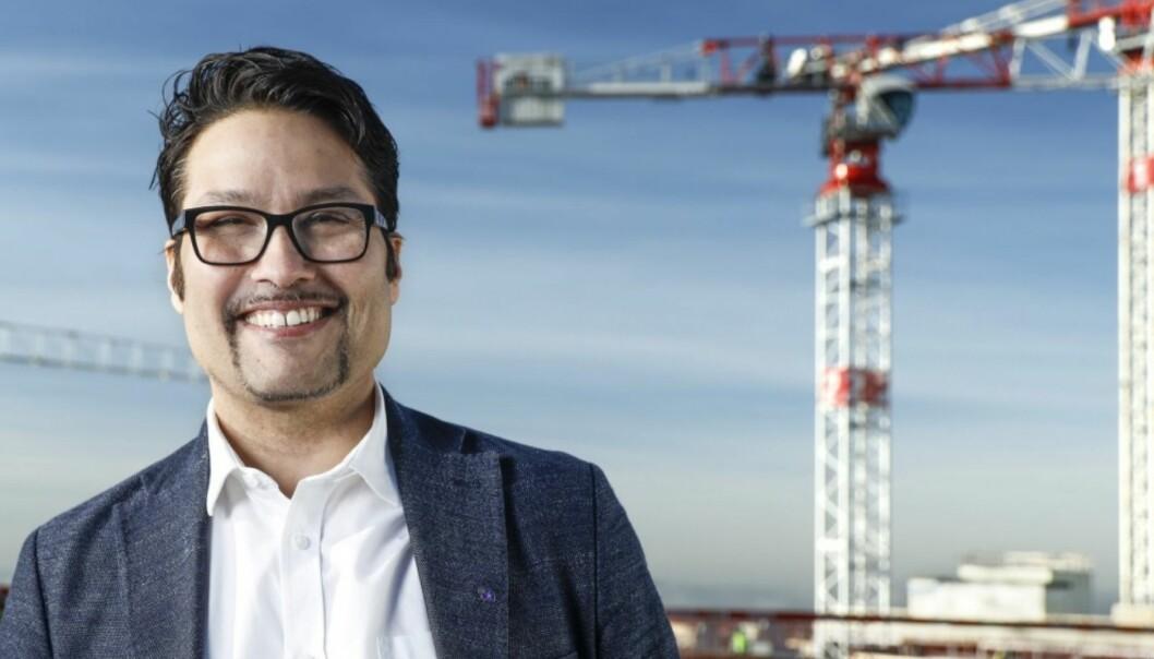 NYE VEIER: Konsernsjef Daniel Kjørberg Siraj ser muligheter i kontormarkedet.