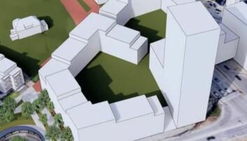Norwegians hovedkontor skal rives. Kjos og Kise vil bygge 300 boliger
