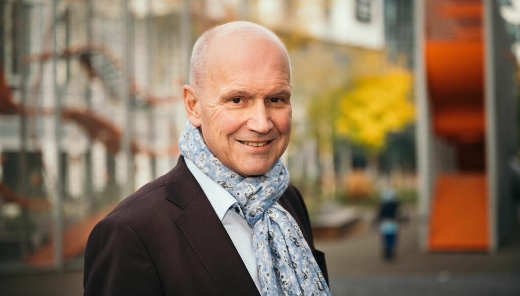 OPP 3 PROSENT: Terje Buraas i DNB Eiendom tror boligprisene steg med 3 prosent i januar.
