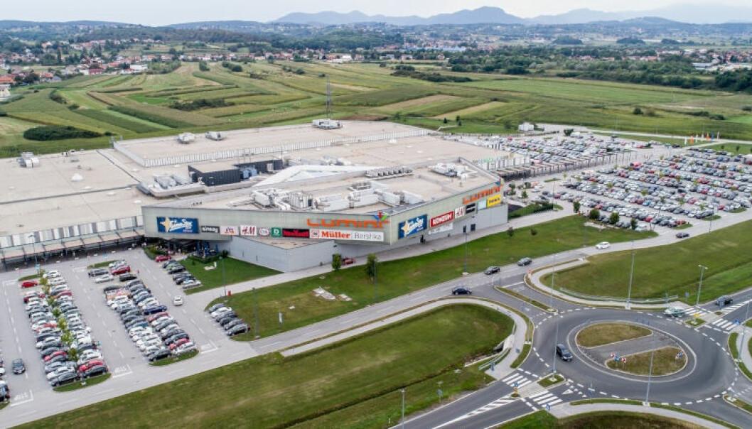 STRIDSEMNE: Lumini Shopping Center i Kroatia. (Foto: Lumini Shopping Center)