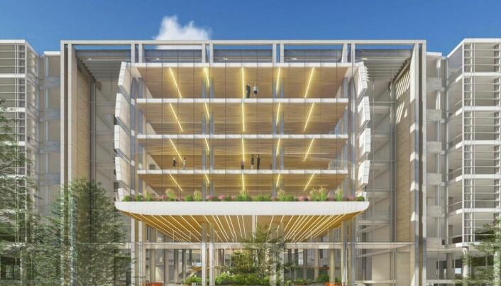 Wilhelmsen vil utvide Oslo Atrium i Bjørvika (+)