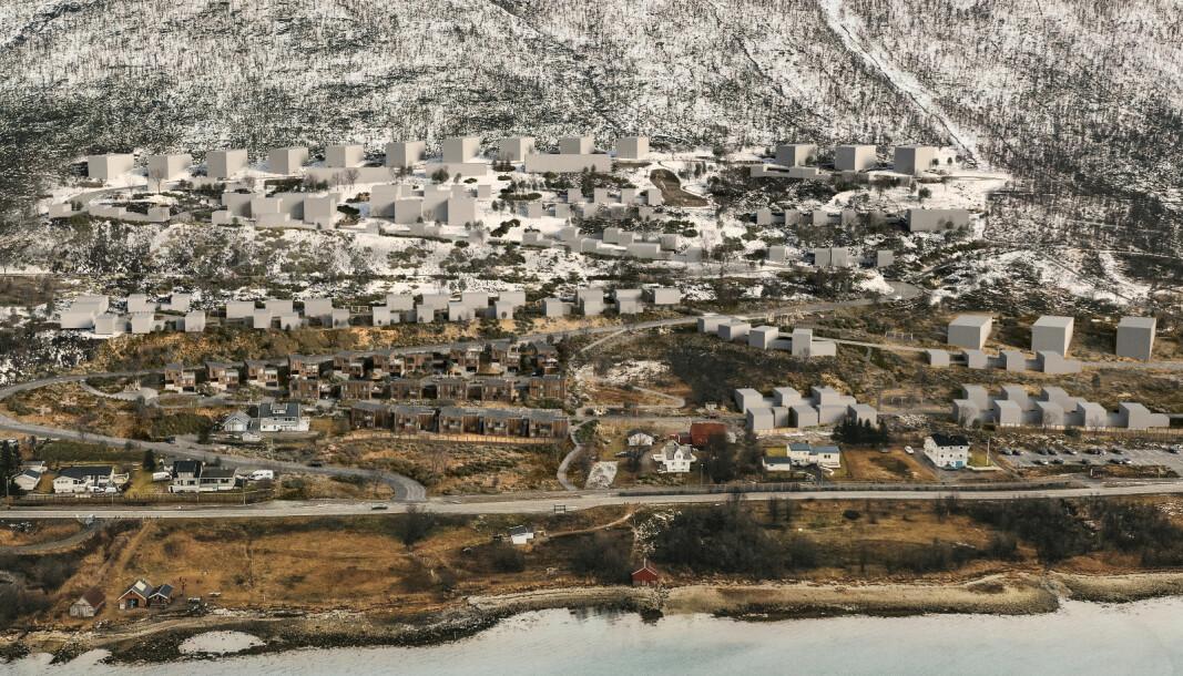 BYDEL: Her, like utenfor bysentrum, skal det de kommende årene bygges 700 boliger.