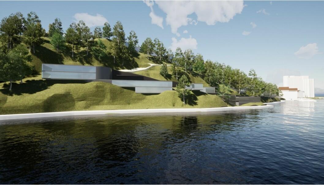 FORTETTING: Utviklerne mener deres boligplan er et godt bidrag til å forlenge sentrum.