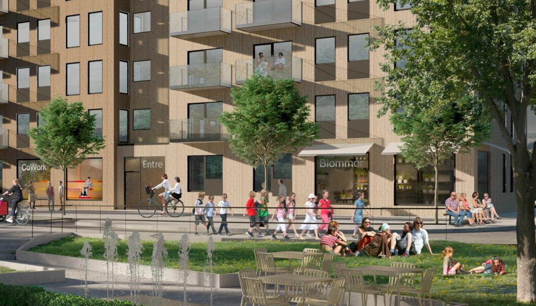 KJØPER MER: SPG har kjøpt en tomt i Sverige som kan gi 45 000 kvadratmeter BRA ny eiendomsmasse.