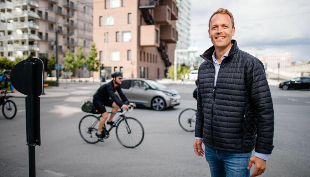 SATSER: Jørn Are Skjelvan hoppet av toppjobben i DNB Eiendom Nybygg for å starte for seg selv.