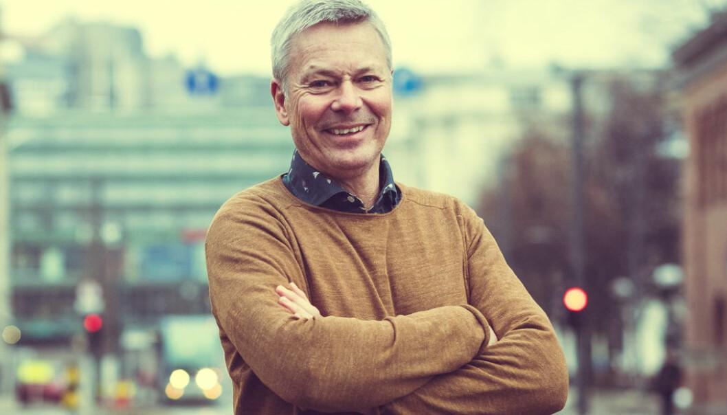 LAVERE TALL: – Våre tall er lavere enn de kommunen opererer med, men vi mener de er mer realistiske, sier Geir Johnsen, leder av OMAs Ressursgruppe Boligutvikling.