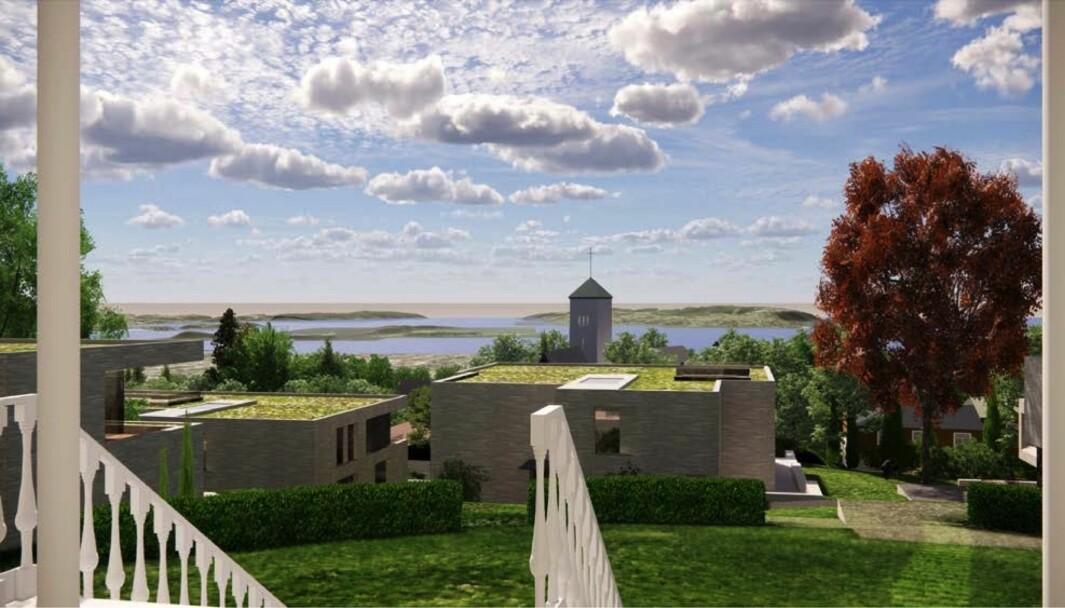 UNIK EIENDOM: – Eckbo Selskapslokale med tilhørende hageanlegg er en unik eiendom med potensial til å bli en av Oslos flotteste eiendommer, mener eierne.