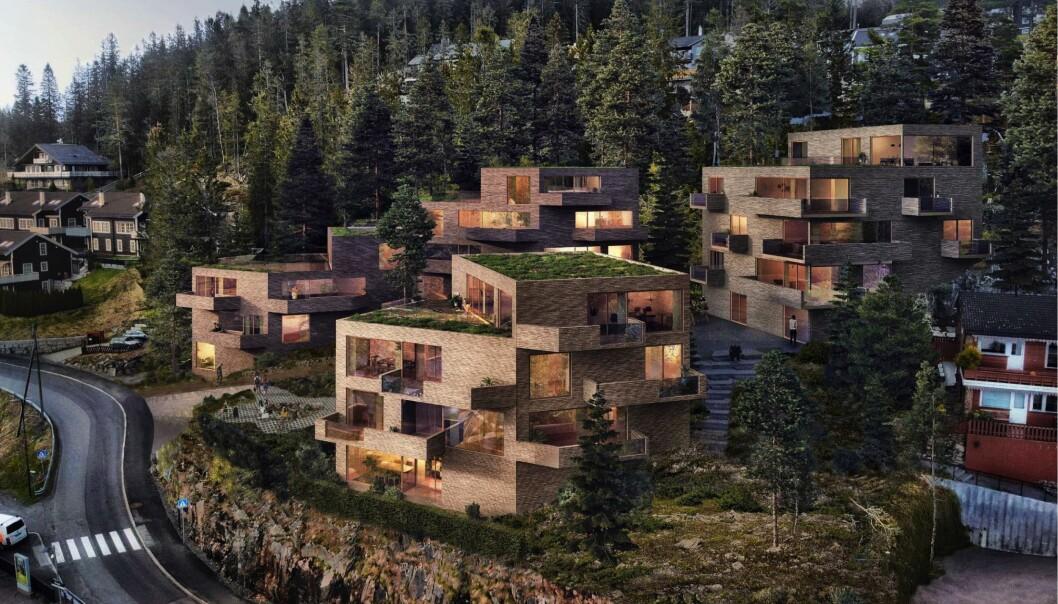 RESTRIKTIV HOLDNING: PBE påpeker at Oslo kommune har hatt en restriktiv holdning til omfattende utbygging i Holmenkollen- /Voksenkollen-området.