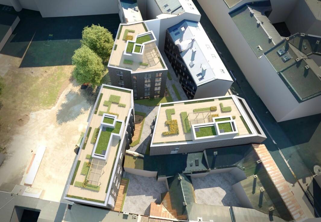 VARIASJON: Boligene varierer fra 2-roms til 4-roms leiligheter, hvor hovedvekten er mellomstore leiligheter på 50-80 kvadratmeter.