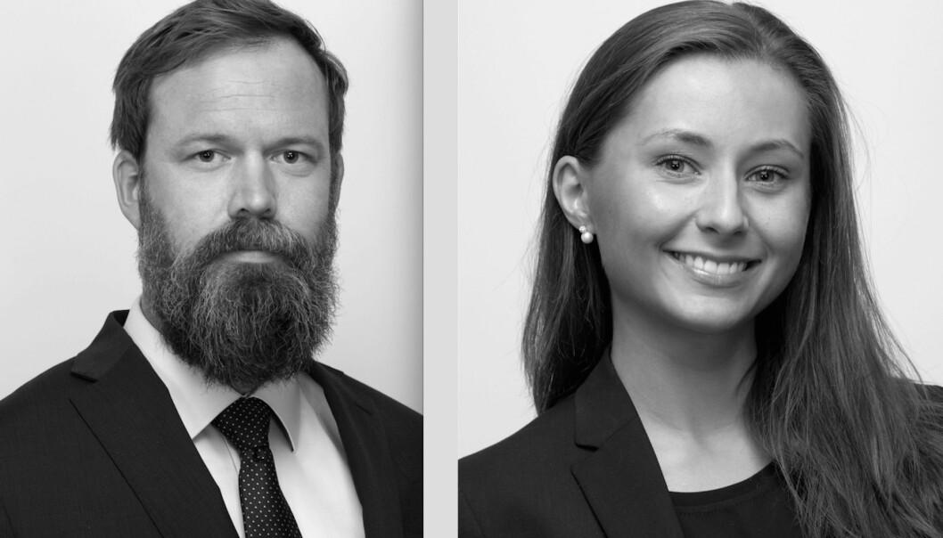 Artikkelforfatterne er senioradvokat Martin Lüttichau og advokatfullmektig Tonje Rismo i Advokatfirmaet Selmer.