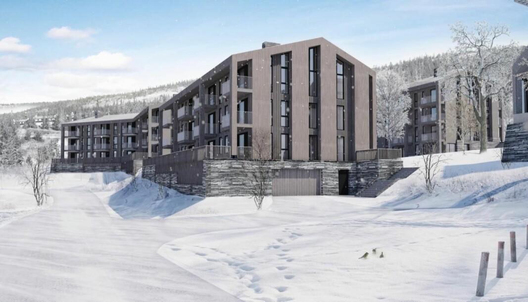 UTVIKLING: Aktører, som på Yttersvingen på Kvitfjell, mener det er viktig å fylle opp eksisterende infrastruktur. .