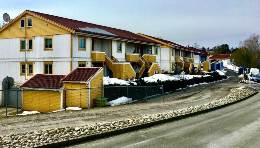 RETTSMARATON: Utbygging av loftsarealer i dette sameiet på Alna har blitt en svært kostbar for affære for eieren.