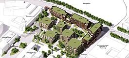 Vil bygge 236 boliger på Bryn