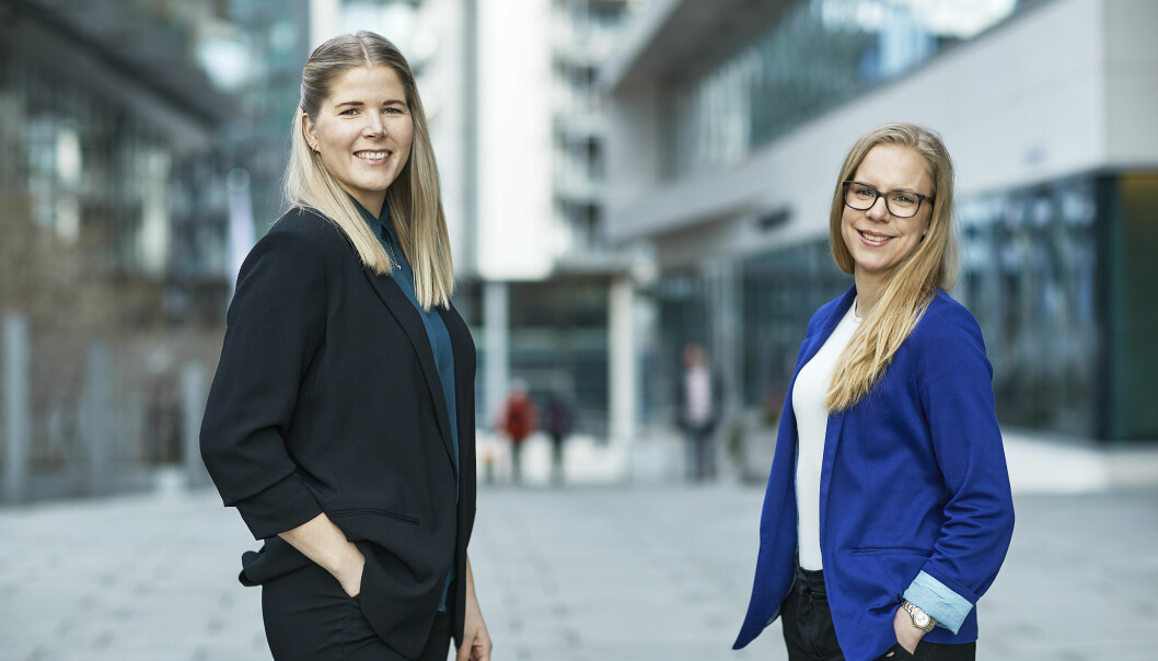 TIL CBRE: Anne Rein og Eileen Mønshaug er to av de nye ansiktene i CBRE Workplace.