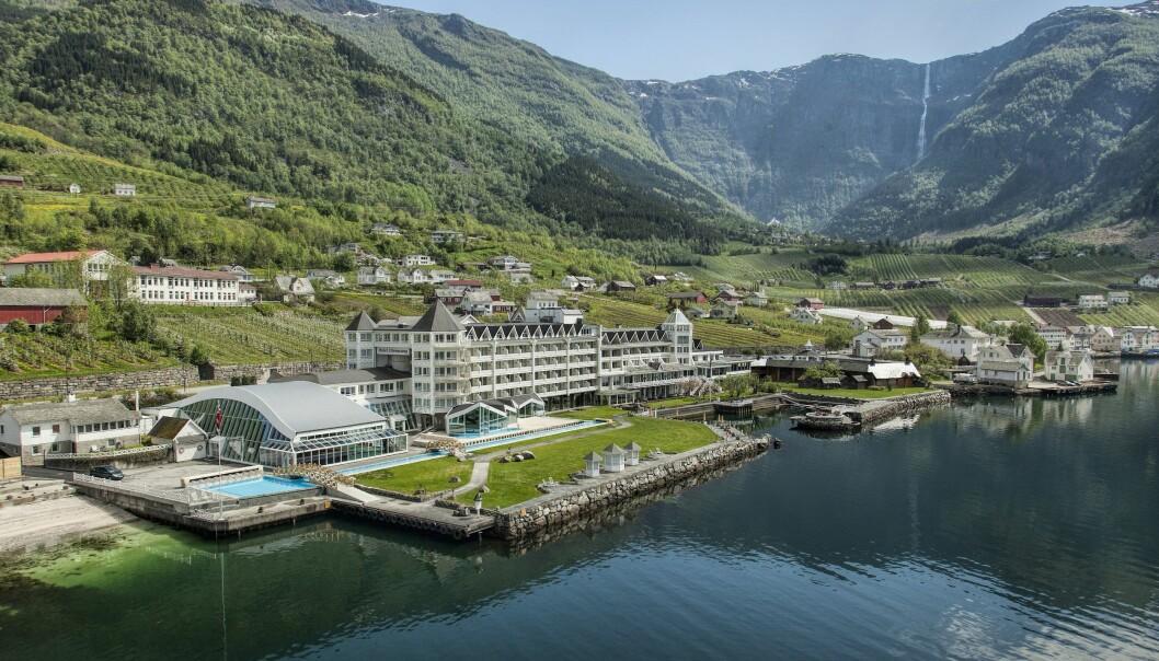 SOLGT: Hotel Ullensvang ble solgt litt over et år etter at det ble lagt ut for salg.
