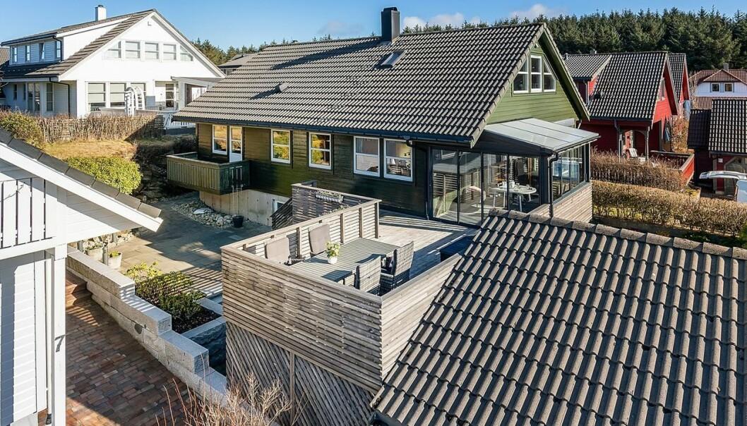 OPP: På Sola er det eneboliger og rekkehus de mest populære boligene, men dem er det få av ute i markedet.