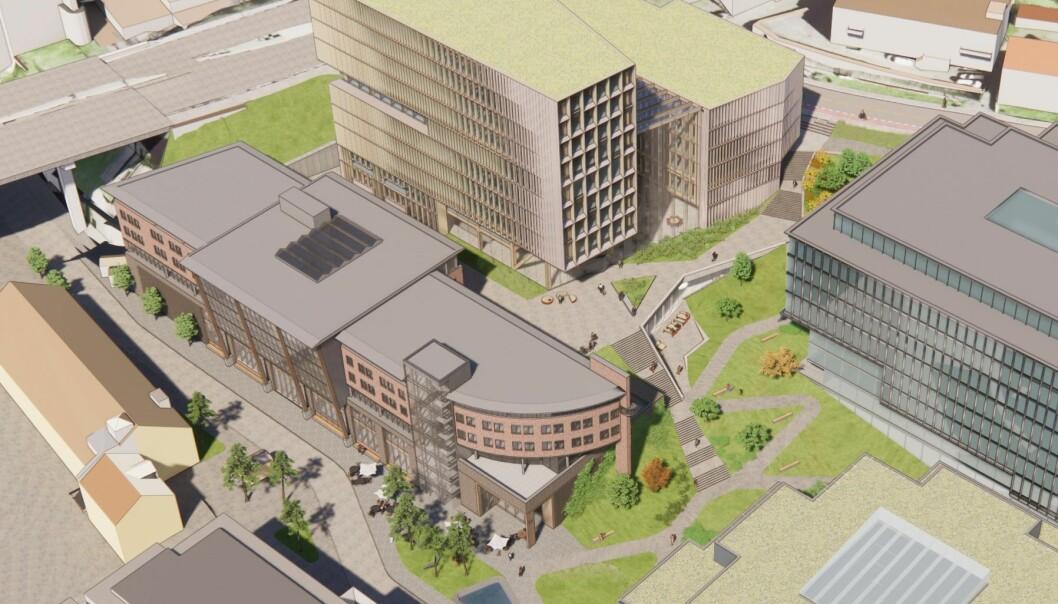 VISJON: Prosjektet inngår i en større visjon om oppgradering av nærområdet.