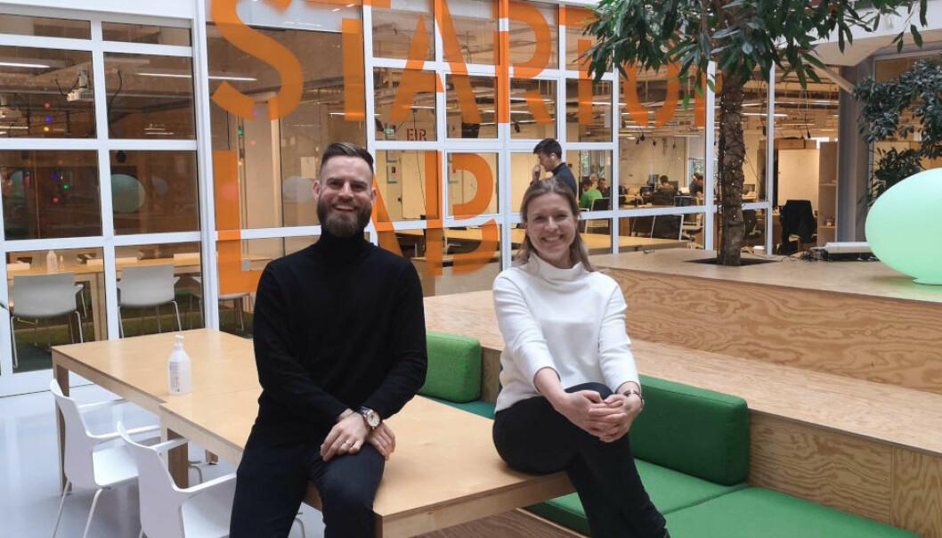 UUTNYTTET POTENSIAL: - Vi opplever at bygg-, anleggs- og eiendomsbransjen ikke har sett hvilket potensial som ligger i å forstå og bruke data, sier Ingrid Schübeler og Johan Bronkhorst i Digital XBO.