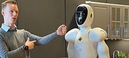 Roboter inn i eiendom