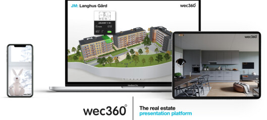 Ny teknikk hjelper JMs kunder å finne sitt fremtidige hjem på Langhus Gård