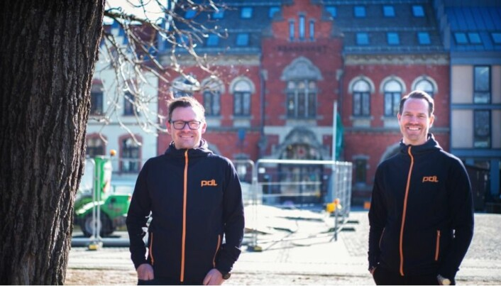 SATSER: Michael Eeg og Ruben Storevold er partnere og etableringsansvarlige for Norge.