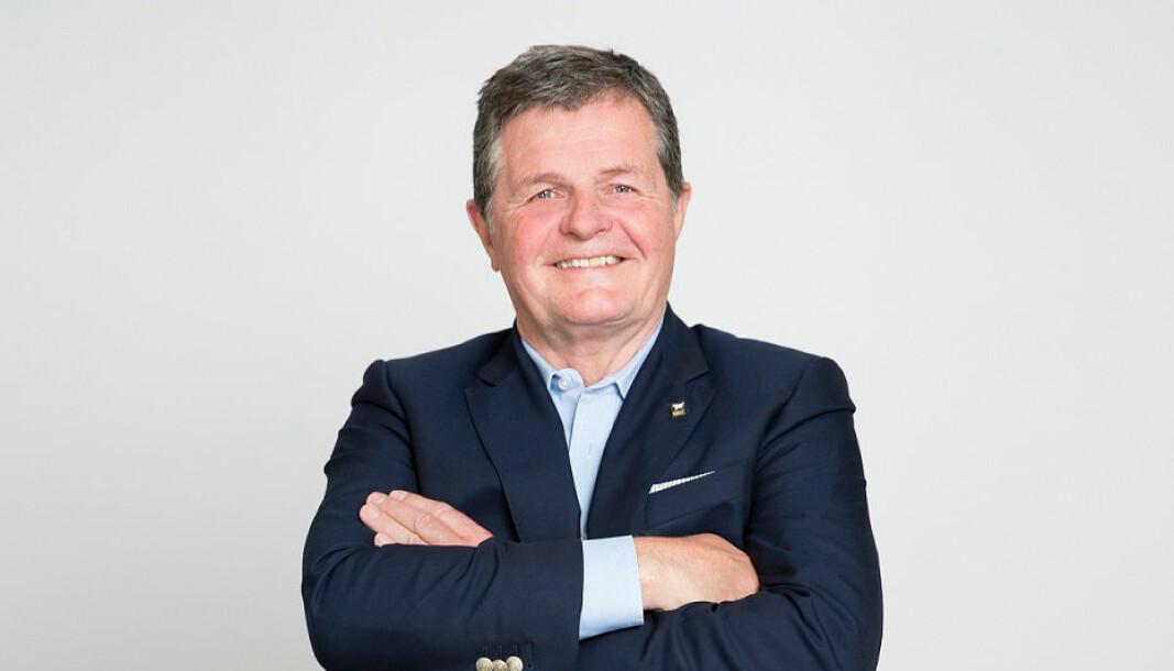 PENSJONIST: Asmund Haare har gjort sitt som styreleder og overlater roret til yngre krefter.