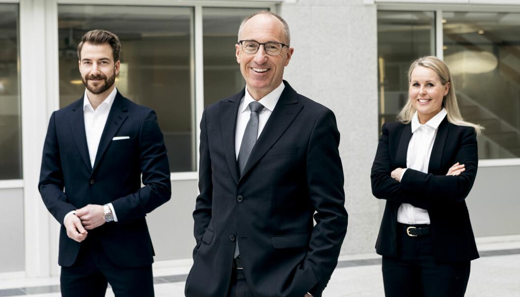 NYE I TOPPEN: Newsec Basale-sjef har hentet Kathrine Knudsen Tilrem til å lede Oslo-kontoret og ansatt Kim André Syvertsen som ny forvaltningsdirektør.
