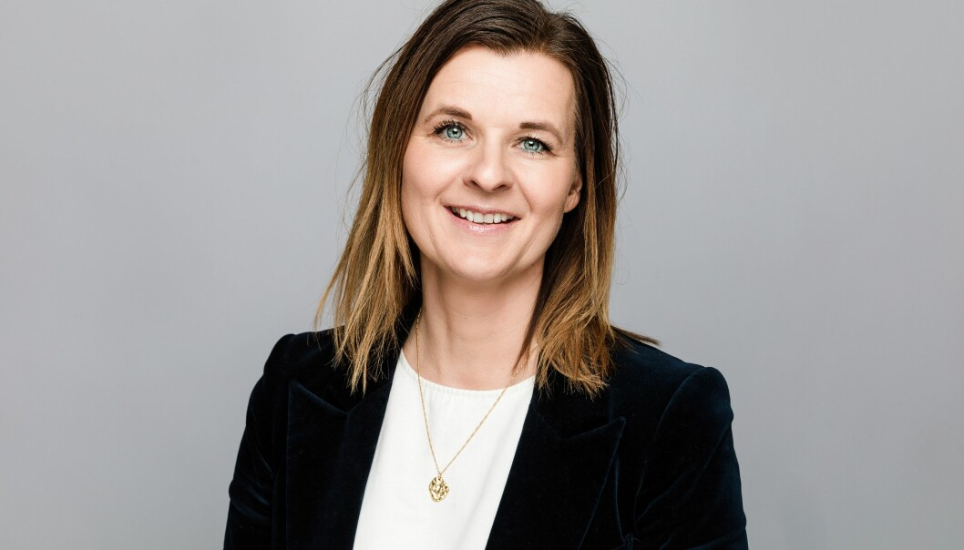 HENTER TRE: Ferd Eiendoms sjef Camilla Krogh har ansatt tre nye medarbeidere.