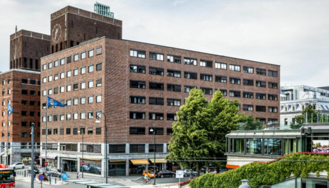 REHABILITERES: Tordenskiolds gate 12 I Oslo sentrum.