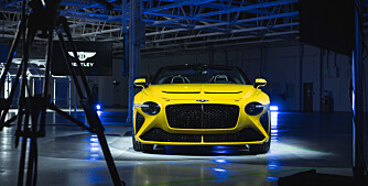 Legendariske Bentley i ny drakt.
