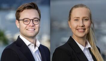 Jørgen Stovner og Jeanette Wulff Tollefsen.