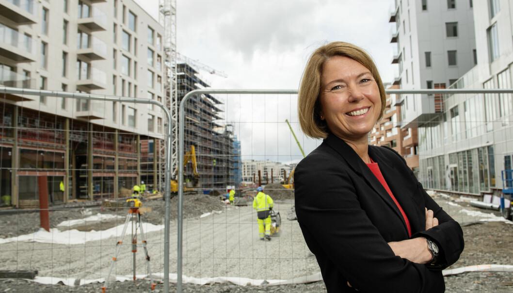 BARE 2016 VAR BEDRE: Administrerende direktør Synnøve Lyssand Sandberg I Oslo S Utvikling kan se tilbake på selskapets nest beste salgsår siden 2016.