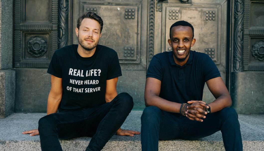 SUKSESS: Da Shafi Adan og Arne Kvale, begge medgründere i Solgt.no skulle hente kapital gikk det over all forventing.
