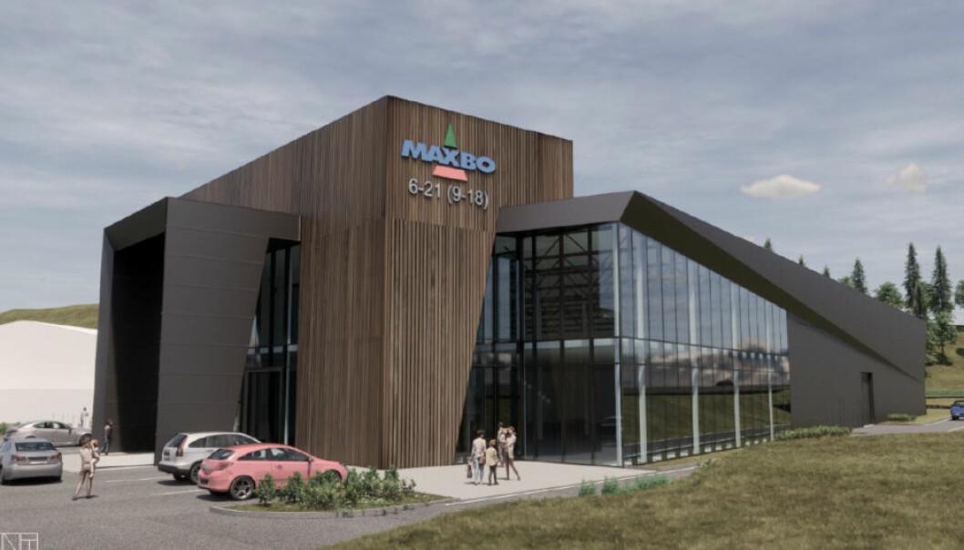 NYBYGG: Seltor skal bygge dette byggevarehuset for Storebrand Holmen Utvikling.