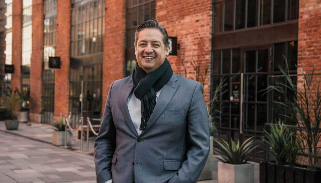 VEKST: Adm. direktør Bent Oustad opplever kraftig vekst i leieinntektene for Norwegian Property.