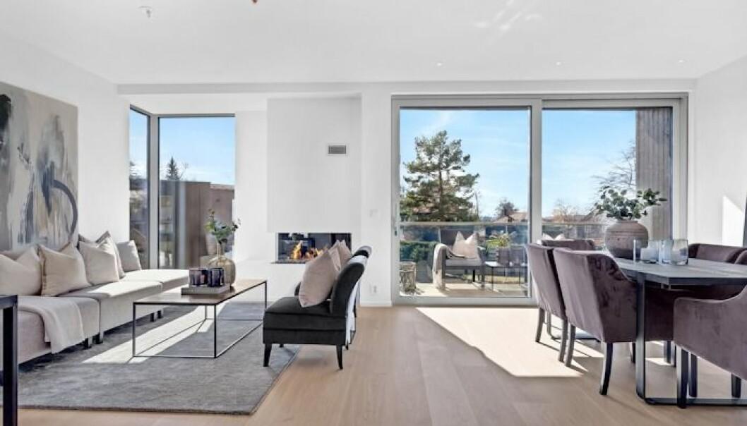 180.000 KR/KVM: En av leilighetene er allerede solgt med en kvadratmeterpris på 180.000 kroner.