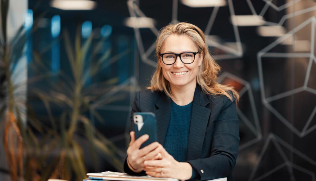 ØKT VERDI: : Renate Straume i Varig mener samarbeidet vil bidra til økt verdi for både Adaptic og Varigs kunder i det datafangsten blir mer strømlinjeformet og dataene i seg selv mer transparente.