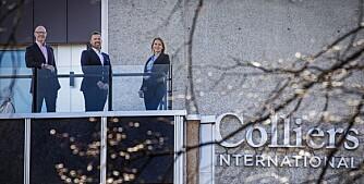Colliers øker satsingen på utleie