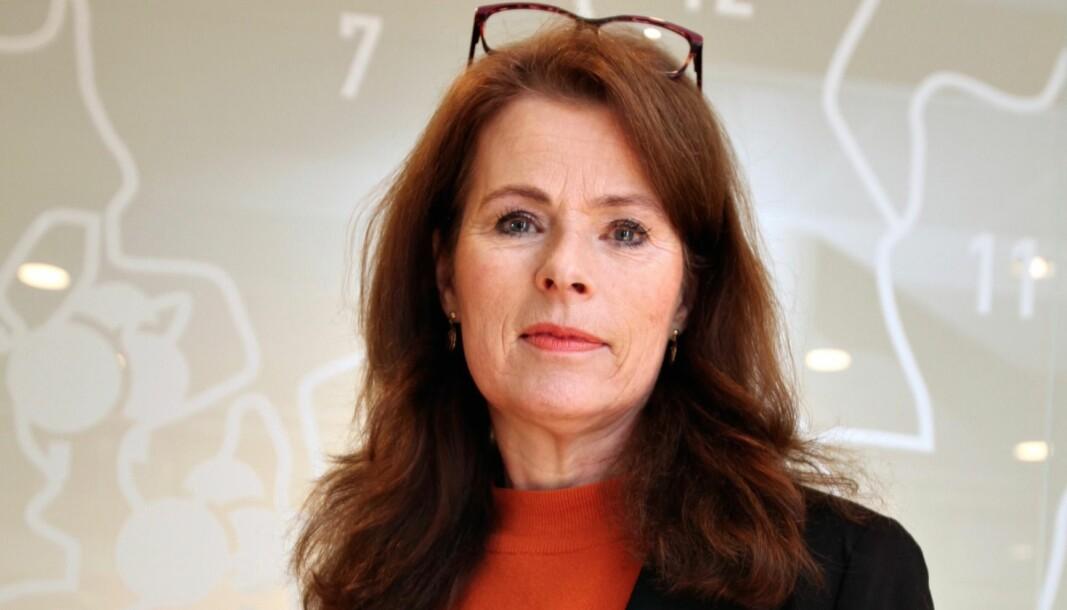 BEDRE: Arbeidsmiljøet i etaten hennes er bedre, men Siri Gauthun Kielland er ikke helt fornøyd.