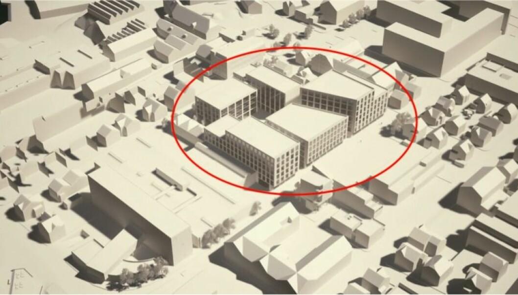 BYLIV: Planen skal regulere ny bebyggelse og uterom som forholder seg til eksisterende bystruktur, med «mål om å bli et positivt tilskudd til områdets byliv og identitet».
