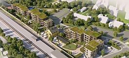 Nedlagt stasjonsområde i Asker kan få 76 leiligheter (+)