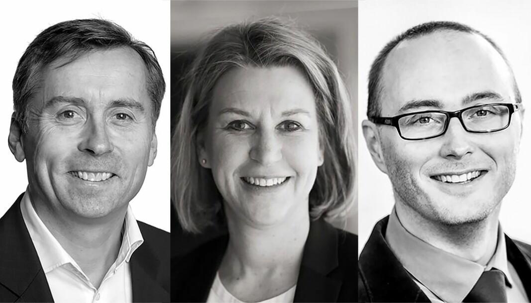 BEST MERKEVARE: Anders Berggren i Malling & Co og Mona Aarebrot i Aspelin Ramm scorer høyt i merkevareundersøkelsen til Morten Olaisens NEMEET.