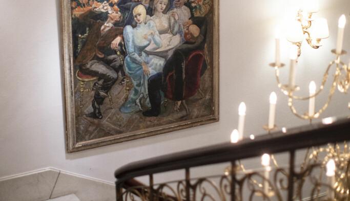 Grand Hotel huser flere av Christian Ringnes' private kunstverk.