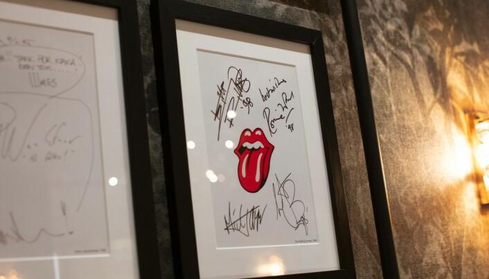 Kjente band som Rolling Stones har bodd på Grand Hotel.