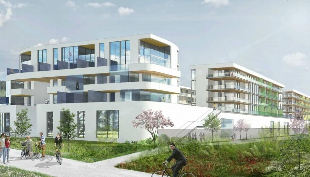 UNIKT: Kombiprosjektet som nå planlegges bringer noe helt nytt til tettstedet.